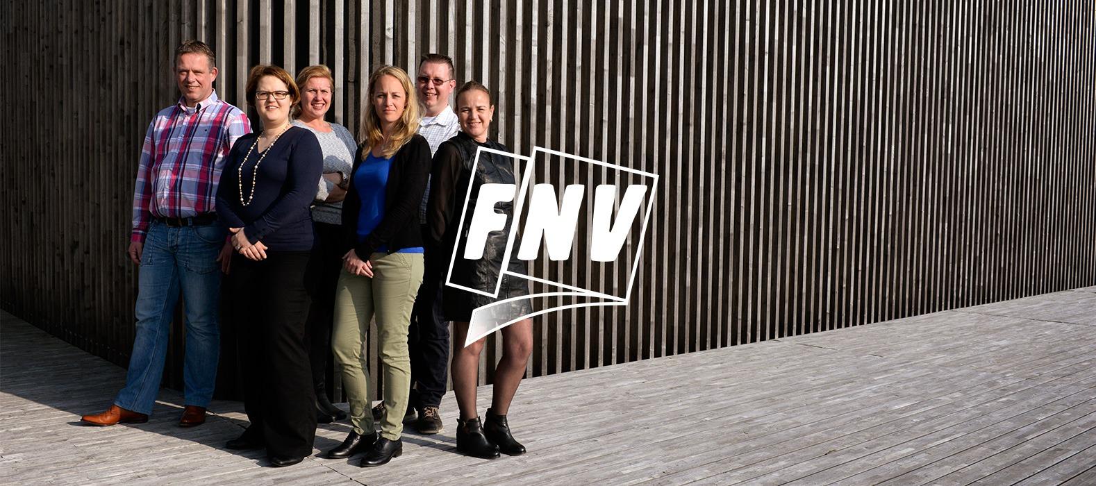 Een fraai plaatje bij FNV – online huisstijl