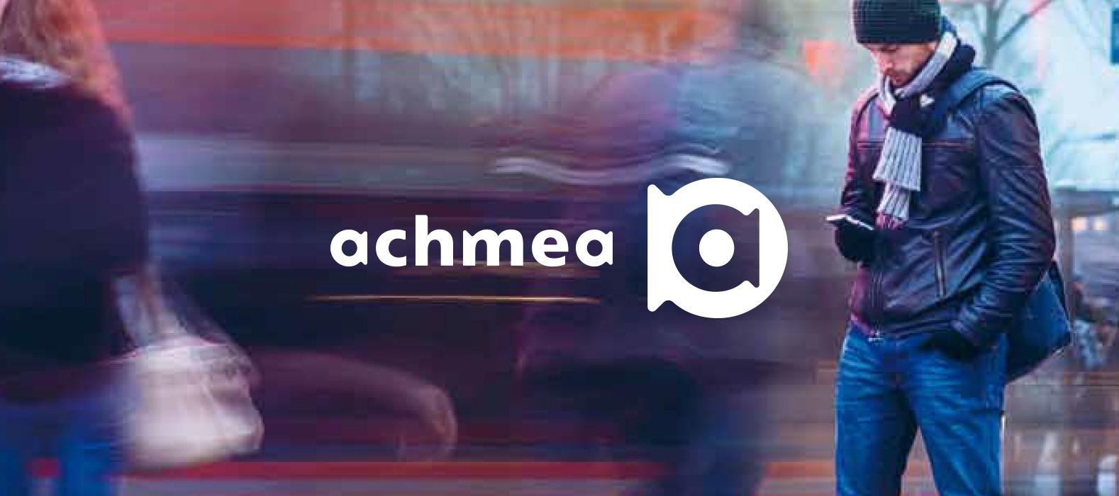 Een fraai plaatje bij Achmea innovatie: Goed Genoeg mobile app