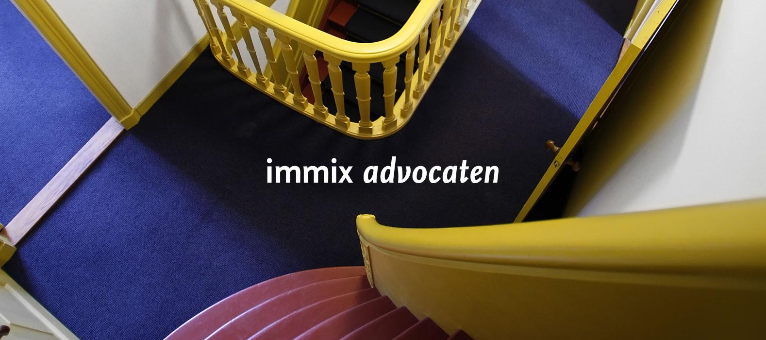 Een fraai plaatje bij Immix advocaten