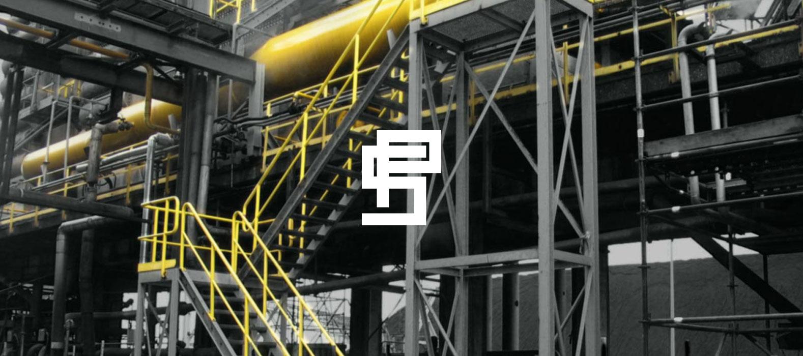 Een fraai plaatje bij Post Staalbouw corporate website