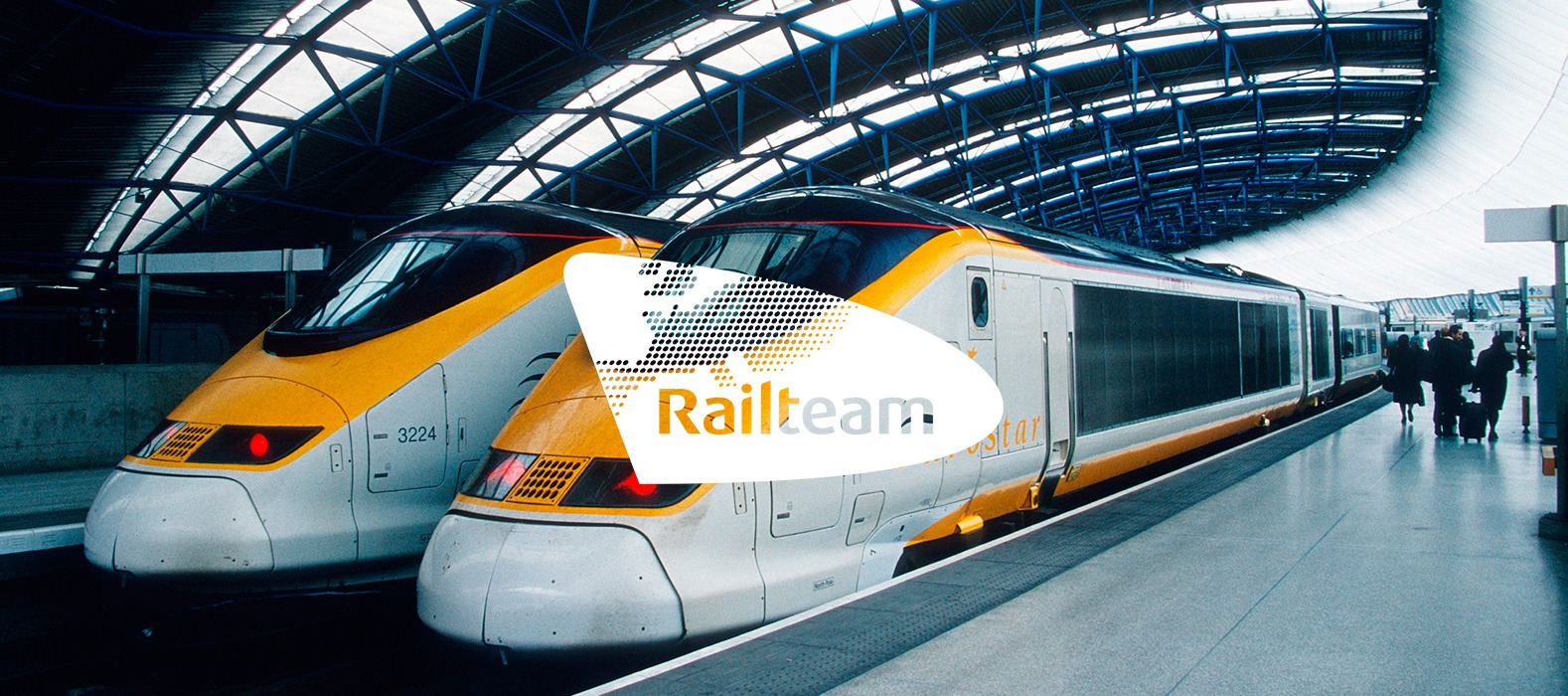 Een fraai plaatje bij Railteam Online media services