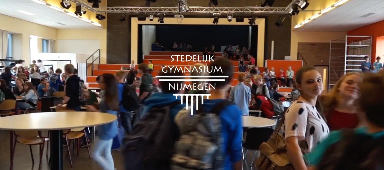 Een fraai plaatje bij Stedelijk Gymnasium Nijmegen