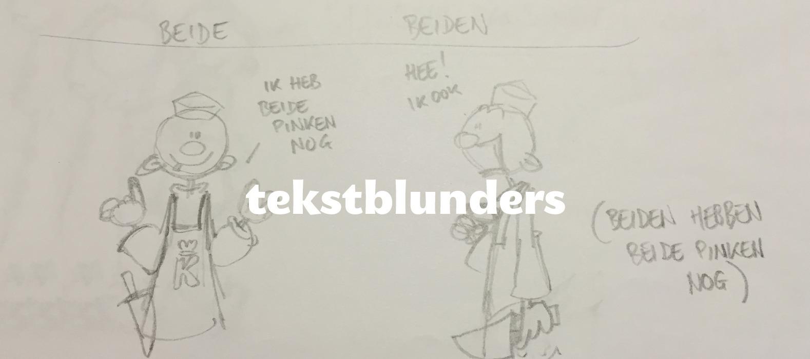 Een fraai plaatje bij Tien tekstblunders die wij nooit (meer) maken!