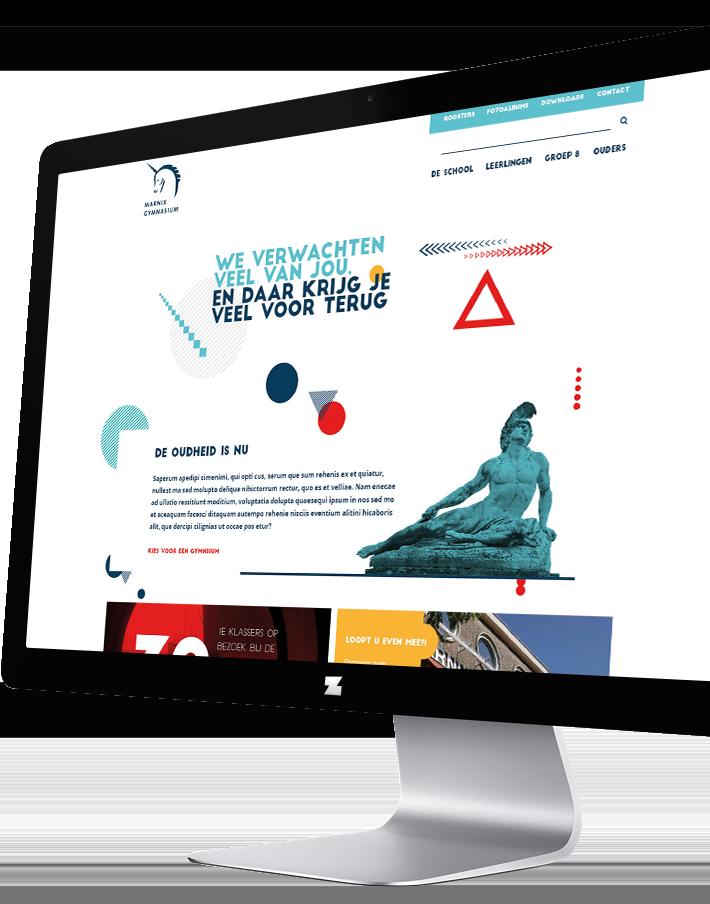 Website Marnix Gymnasium Rotterdam