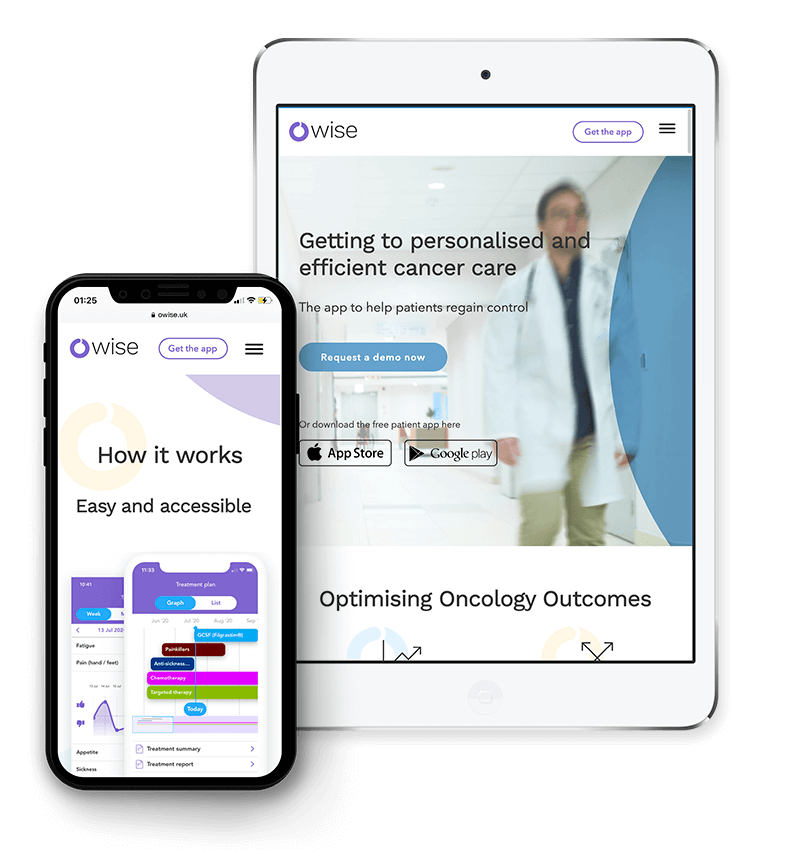 OWise app website